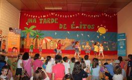 Lluvia de ilusión y solidaridad en el XIV Encuentro de la Escuela Infantil Comarcal de Los Monegros que reunió a 150 niños y niñas en La Almolda