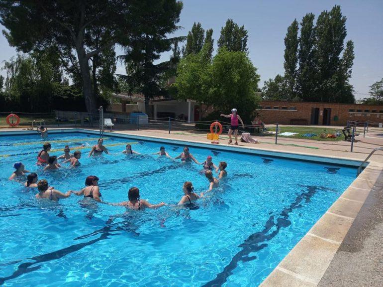 Alrededor de 750 personas de todas las edades se ponen en forma este verano con las actividades deportivas de la Comarca de Los Monegros