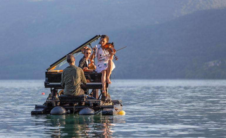 El piano del lago llega a Huesca este verano