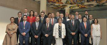 Miguel Gracia reivindica una discriminación administrativa que agilice y simplifique el trabajo de los pequeños ayuntamientos de la provincia
