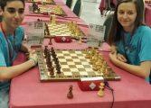 Los ajedrecistas de Monzón y Huesca Pedro Antonio Ginés y María Eizaguerri, Campeones de España sub 16