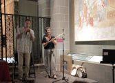 Inaugurada la exposición 'Los Sonidos de la Imagen', primer acto del XXVIII Festival Internacional en el Camino de Santiago
