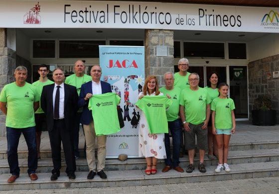 Los voluntarios del Festival Foklórico de los Pirineos, listos para sus semanas más intensas