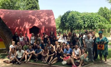 La Escuela de Aeda pone el broche final a una edición en Huesca que reconoce el papel de las bibliotecas en la figura de Blanca Calvo
