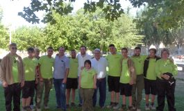 Alumnos de la escuela taller del Reina Sofía de Monzón harán prácticas en dos jardines municipales