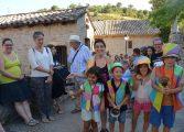 El II Festival País de Moñacos revitaliza Abizanda con el arte de los títeres