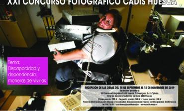 CADIS Huesca convoca su concurso fotográfico con el lema 'Discapacidad y dependencia: maneras de vivirlas'