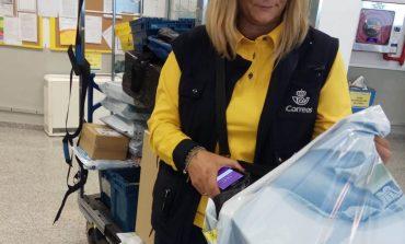 Correos renueva las PDAs de sus carteros de Huesca