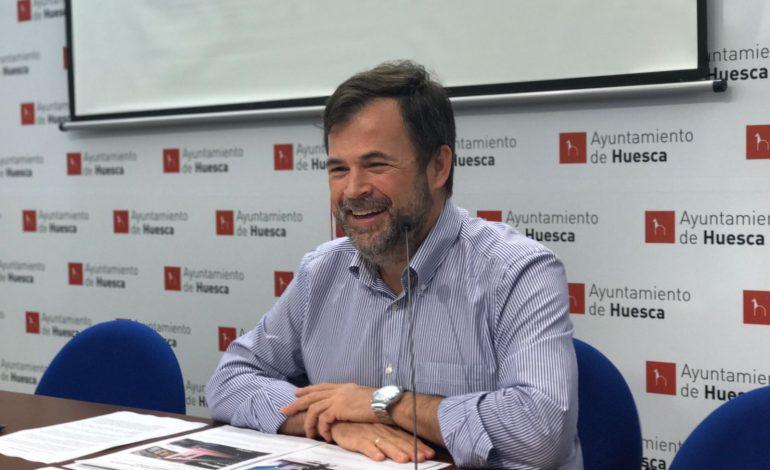 """José Luis Cadena: """"Es necesario finalizar la peatonalización del Coso Bajo por la seguridad de los oscenses"""""""