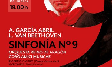 La Orquesta Reino de Aragón y el Coro Amici Musicae conmemoran en Huesca con la 9 Sinfonía de Beethoven los 25 años del Auditorio de Zaragoza