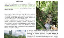 VI Testing de biodiversidad Punto BV Espacio Pirineos / OCB Baja Ribagorza