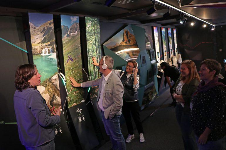 El PIRIBUS despliega su visión del Pirineo en Jaca