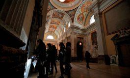La Diputación de Huesca trabaja con la Escuela de Restauración en una línea de colaboración para recuperar y proyectar las pinturas de la Cartuja
