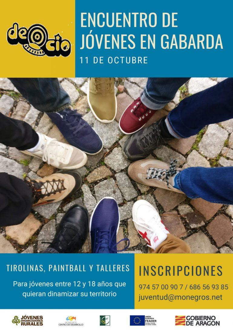 Gabarda acoge este viernes un nuevo encuentro de Jóvenes Dinamizadores Rurales en Los Monegros