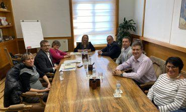 CERMI-Aragón traslada las necesidades del sector de la discapacidad a la Consejera de Economía y Empleo del Gobierno de Aragón