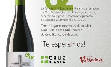 Presentación del vino Cruz, el crianza solidario de Cruz Blanca