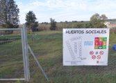 La brigada forestal acondiciona las 22 parcelas de los huertos sociales de Monzón