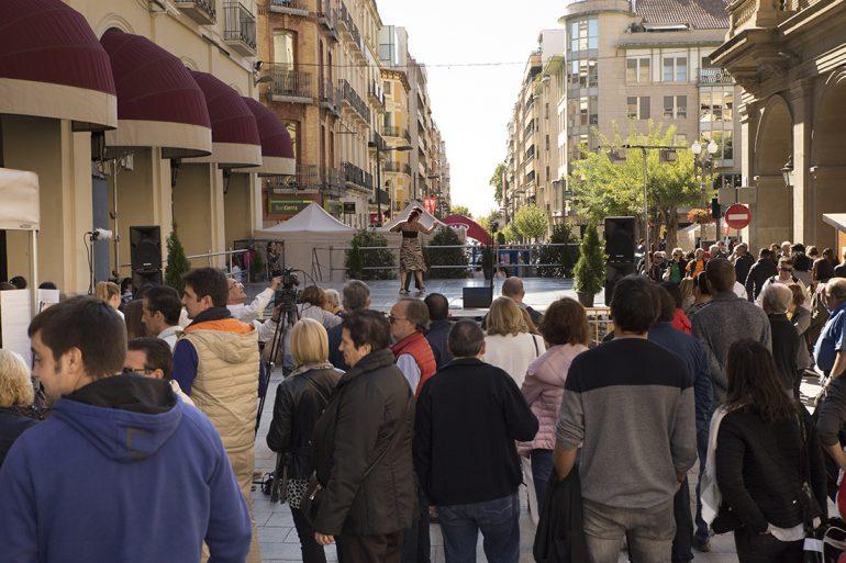 Éxito de la IVFeria Solidaria Arte, Cultura y Deporte de Huesca