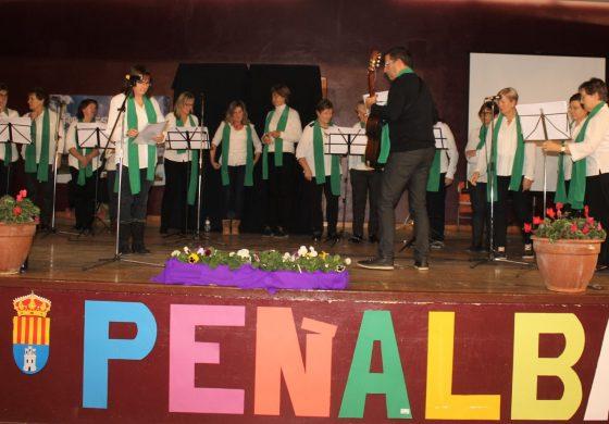 El CPEPA Monegros hace visible en Peñalba el inicio de curso de Educación de Adultos, con un participativo acto de convivencia