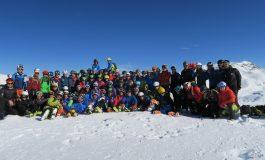 El equipo juvenil de esquí de montaña de la Federación Aragonesa de Montañismo abre la temporada en Cerler