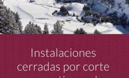 Cierre de las carreteras de acceso al Balneario de Panticosa y los Llanos del hospital por riesgo de aludes
