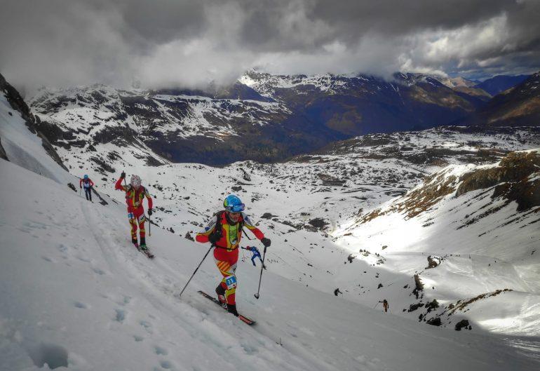 La selección aragonesa de esquí de montaña suma cinco nuevos triunfos esta temporada en la 8ª Causiat Extreme