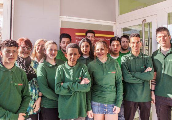 Se inicia la Escuela Taller de Fundación Cruz Blanca, en la que se formará a diez jóvenes en actividades de comercio