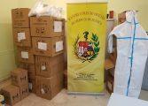 El Colegio Oficial de Médicos de Huesca compra en China 400 monos de protección para distribuir entre los profesionales del 061, hospitales, residencias y centros de salud de la provincia