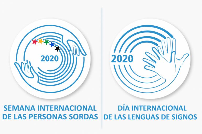 Semana Internacional de las Personas Sordas 2020 y Día Internacional de las Lenguas de Signos 2020