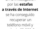 La Guardia Civil de Huesca detiene a 16 personas e investiga a otras 3 por delitos relacionados con fraudes a través de Internet