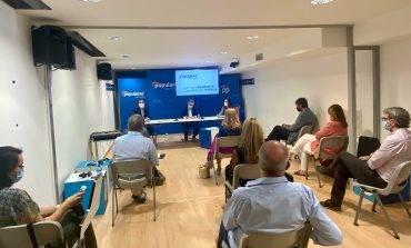 Beamonte exige a Sánchez en Huesca un fondo incondicionado para los ayuntamientos porque ningún municipio puede quedarse atrás
