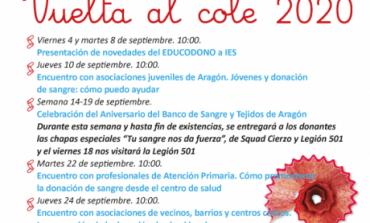 El Banco de Sangre y Tejidos de Aragón organiza un mes de encuentros virtuales con diferentes colectivos para impulsar la donación