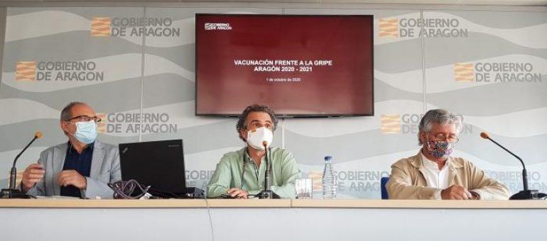 Aragón comienza una campaña de vacunación antigripal crucial por su coincidencia con el COVID-19