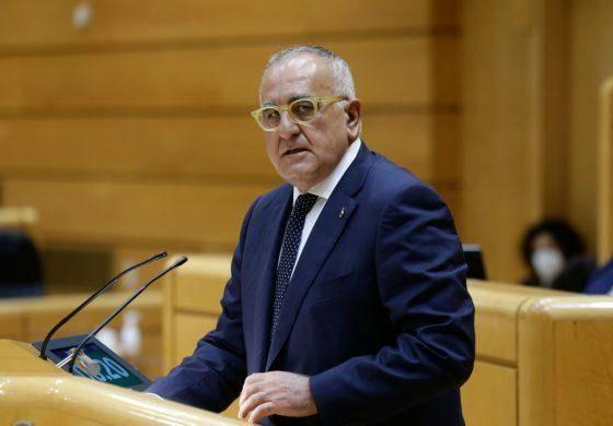 El PAR lleva al pleno del Senado la reactivación del Corredor 16 Zaragoza-París y la Travesía Central