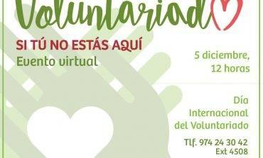 Día del Voluntariado: Si tú no estás aquí, lo celebraremos unidos en la distancia