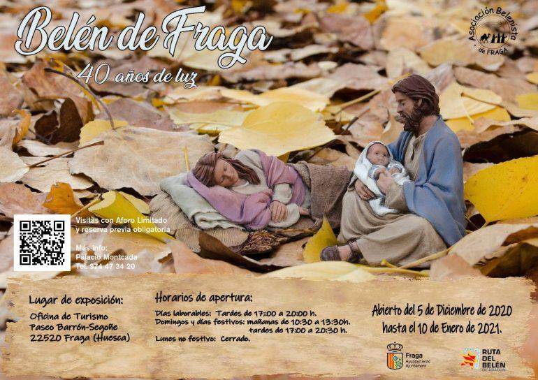 Abiertas las reservas para visitar el Belén Monumental de Fraga