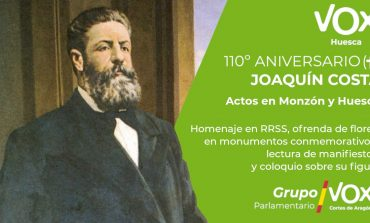 VOX Huesca reivindica el pensamiento político regeneracionista de Joaquín Costa