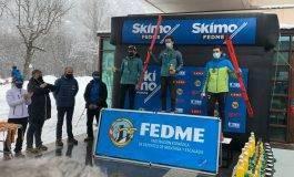 Los aragoneses Óscar Díez, Jorge Catalán y Miguel Arruego conquistan en la copa de España de Esquí de Montaña