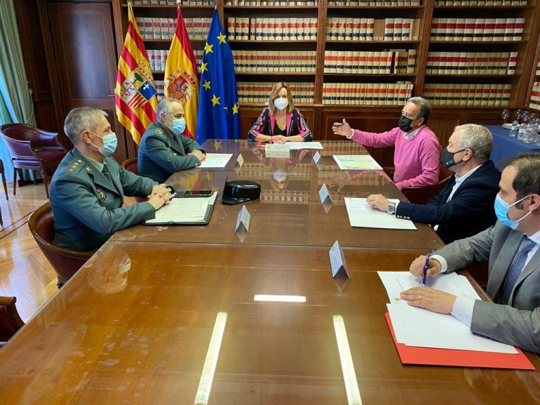 Frente común de Delegación del Gobierno, Diputaciones y Guardia Civil contra la ciberdelincuencia