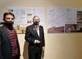 Los quince proyectos presentados para la construcción de un espacio de congresos en Aínsa se exponen en Zaragoza