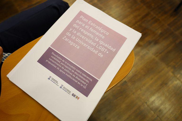 Unizar estrena un Plan Estratégico para fomentar el respeto e igualdad LGTB+