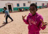 Tres entidades de CADIS Huesca apadrinan 18 menores con discapacidad saharauis