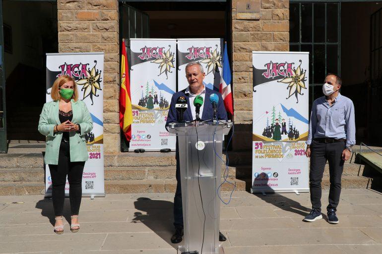 Jaca, afronta con ilusión la 51 edición del Festival Folklórico de los Pirineos