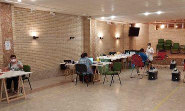 Jornada de donación de sangre en San Esteban de Litera el pasado viernes