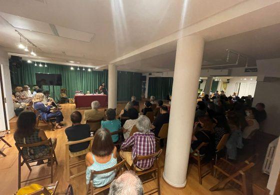 """La Casa de Aragón en Madrid retoma sus actividades culturales presenciales con la presentación del libro """"Mutaciones"""""""