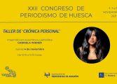 El taller de crónica personal y de información meteorológica abren las sesiones formativas del Congreso de Periodismo