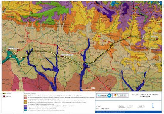 Abierto el plazo de alegaciones al proyecto de Autopista Eléctrica Laluenga - Isona