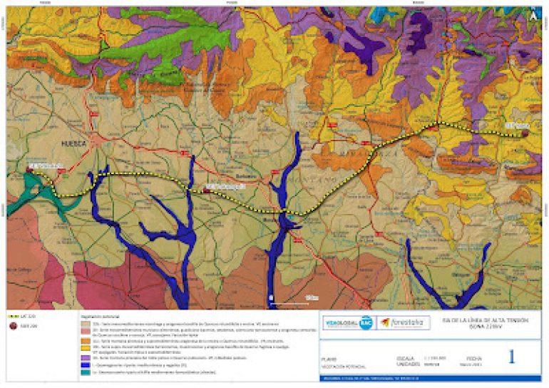 Abierto el plazo de alegaciones al proyecto de Autopista Eléctrica Laluenga – Isona