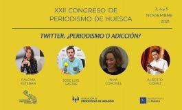 La relación entre los periodistas y Twitter protagoniza una de las mesas redondas del Congreso de Periodismo de Huesca