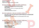 Primer ciclo de conferencias de la UIMP-Pirineos: La mala polarización